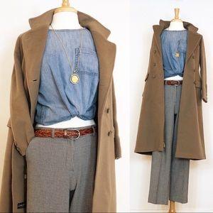 Vintage Wool Winter Coat • S/M